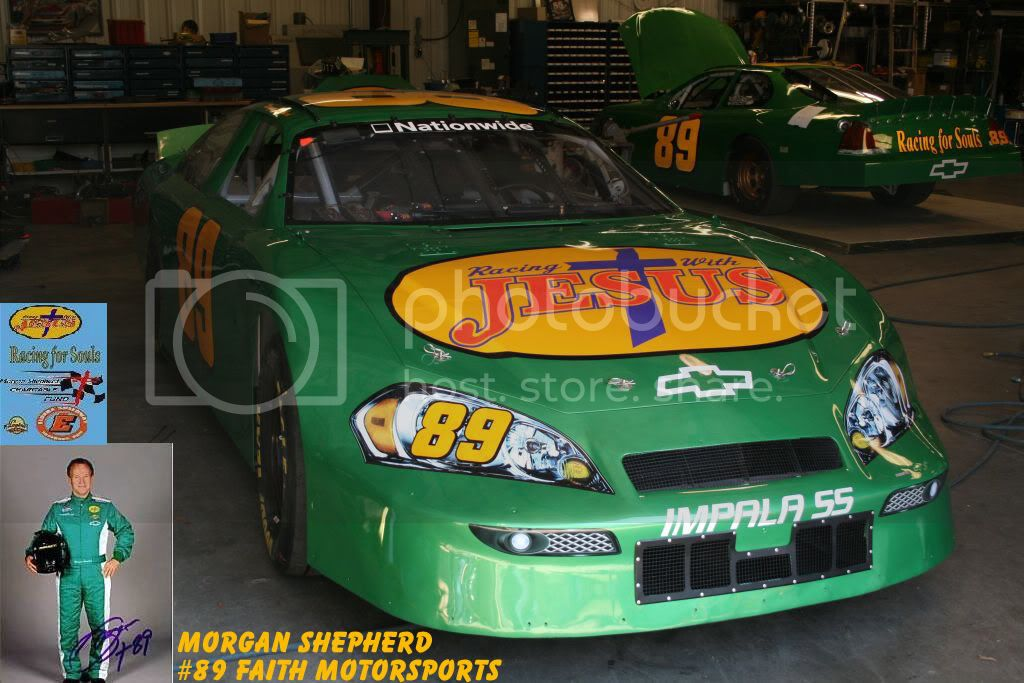 Morgan Shepherd Fans Message Board!