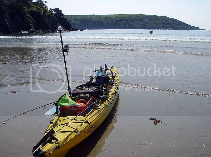 Kayak fishing Salcombe &#8211; May 2010